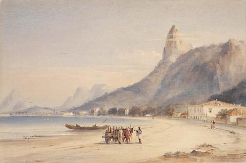 Botafogo Bay by Conrad Martens