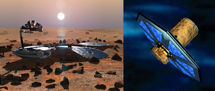 Beagle 2 and Darwin Mission ESA