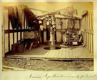 Leonard Darwin's transit station