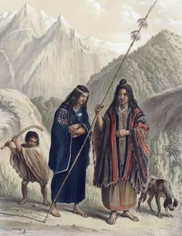 Mapuche family