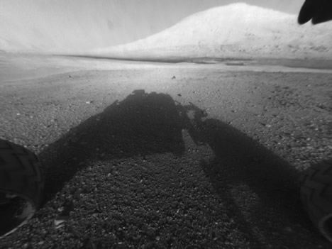Mount Sharp in Gale Crater