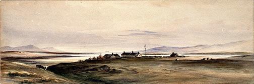 Conrad Martens Falklands painting