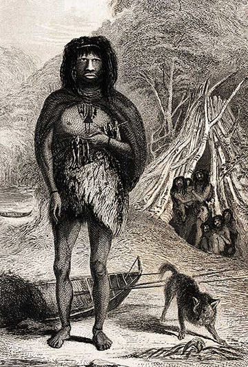 Natives of Tierra del Fuego