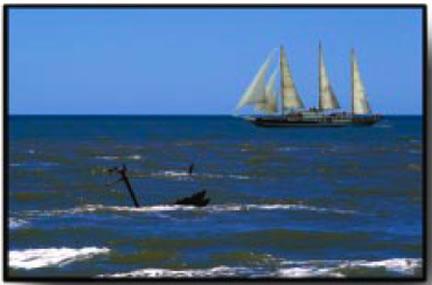 Shipwreck on the La Plata