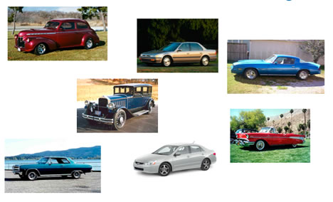 Relative Dating - Cars