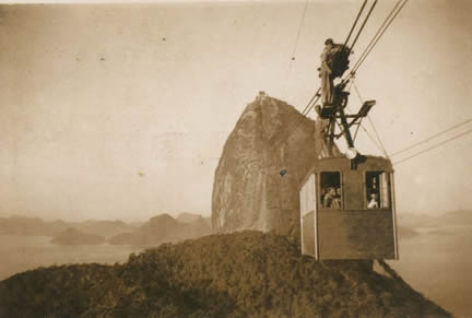 Sugarloaf tram in the 40's