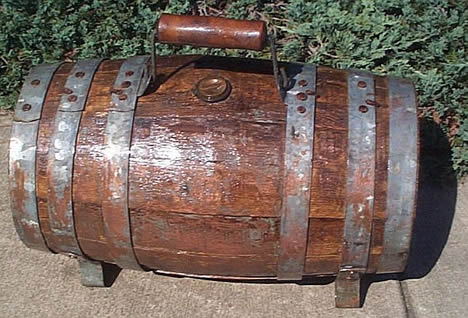 Royal Navy cask