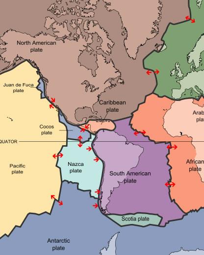 Western Palte Map
