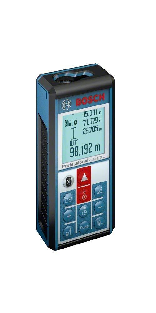 Test et Avis : Bosch Professional GLM 100C, un télémètre laser professionnel avec Bluetooth