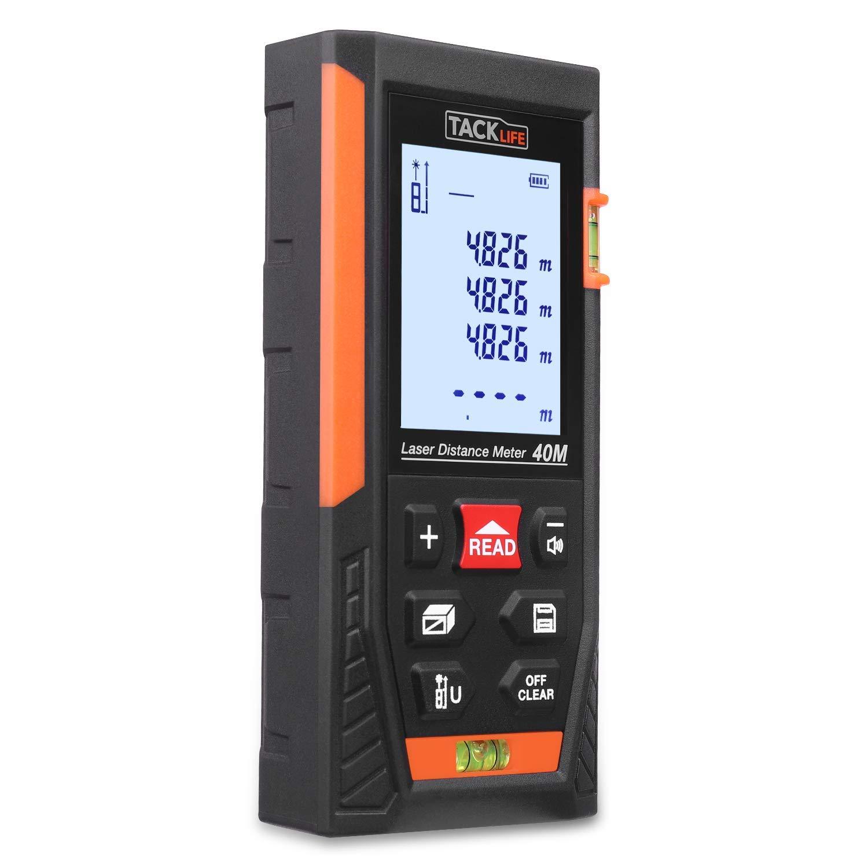 Test et Avis : Tacklife HD 40 m et 60 m, le télémètre laser pas cher le plus populaire !