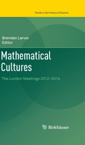 Mathematical Cultures cover