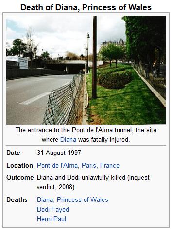 diana tunnel paris