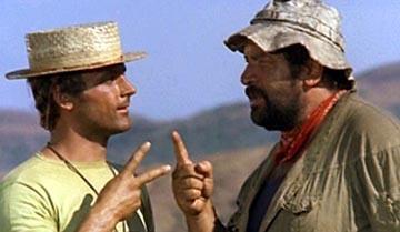 Bud Spencer e Terence Hill alla prese con un Pari o Dispari : )