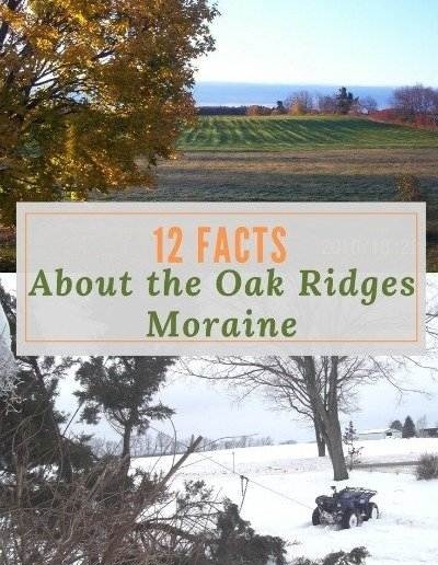 12 Facts About the Oak Ridges Moraine-http://sciencealcove.com/2014/07/twelve-facts-oak-ridge-moraine/