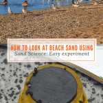 How to Look at Beach Sand using Sand Science:Easy experiment
