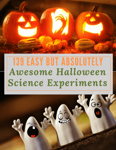 139 Easy But Absolutely Awesome Halloween Science Experiments -http://sciencealcove.com/2017/10/easy-and-awesome-halloween-science-experiments/