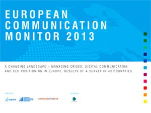European Communication Monitor 2013