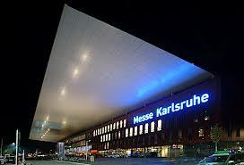 Das Messe-Kongresszentrum in Karlsruhe - Ort des Forums Wissenschaftskommunikation.