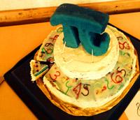 """Eine Pi-Torte als Blog-Echo - Aus dem Blog """"Augenspiegel"""""""