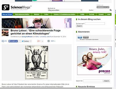 """Der """"Wissenschafts-Blog des Jahres 2014"""" - Primaklima."""
