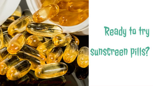 Ready to try sunscreen pills?