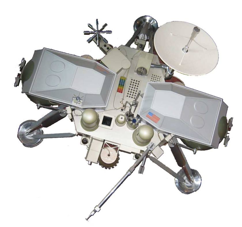 maquette de l'atterrisseur