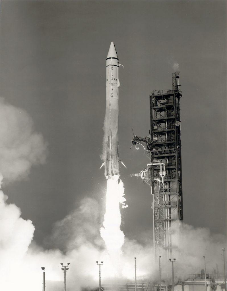 lancement de la sonde