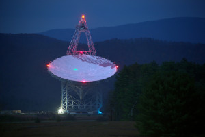 Robert C. Byrd Green Bank Telescope at the National Radio Astronomy Observatory (NRAO), Green Bank, West Virginia. Photo: Jiuguang Wang