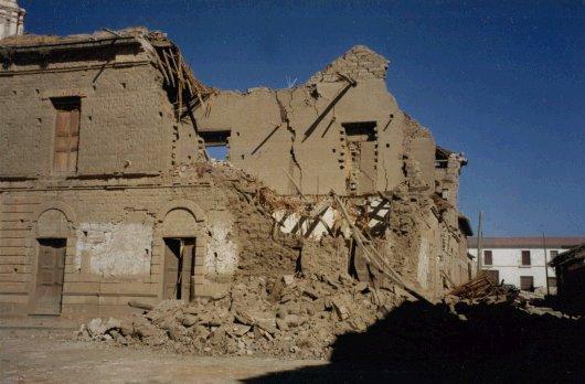 Retrofitting adobe for earthquakes