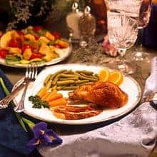 Family dinner rituals translate to lower BMI