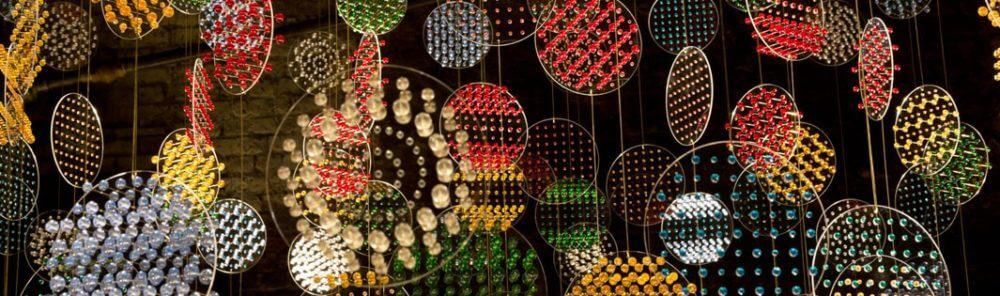 Particle physics-inspired art installation opens in London