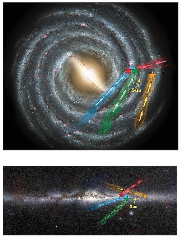 Bad-boy 'hypervelocity stars' found escaping the galaxy