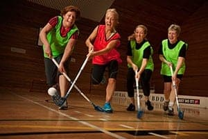 Team sport compensates for oestrogen loss