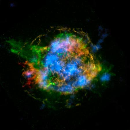 NuSTAR Reveals Radioactive Matter in Supernova Remnant