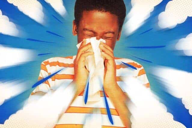 In the cloud: How coughs and sneezes float farther than you think