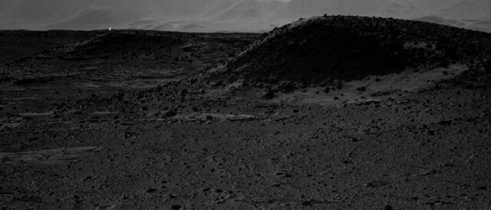 Images From NASA Mars Rover Include Mysterious Bright Spots