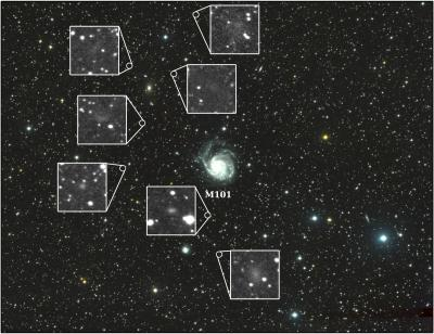 Astronomers find 7 dwarf galaxies with new telescope