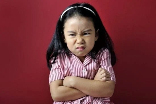 The Universal 'Anger Face'