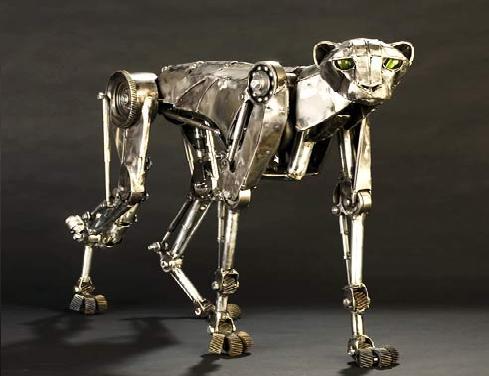 Cheetah robot can run and jump, untethered, across grass