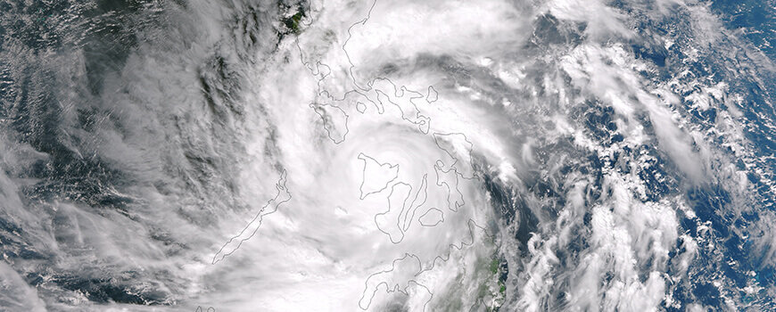 Typhoons to Intensify 14% Under Moderate Scenario