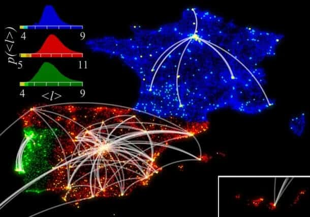 Breaking down social networks in a city