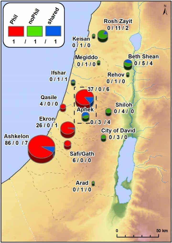 Philistines introduced sycamore, cumin and opium poppy into Israel during the Iron Age