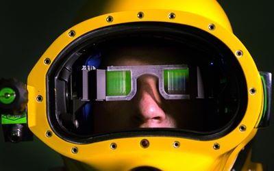 Eyes in the Dark: Navy Dive Helmet Display Emerges as Game-Changer