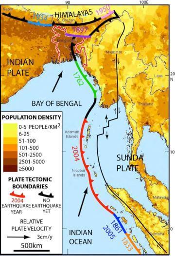 A giant quake may lurk under Bangladesh and beyond
