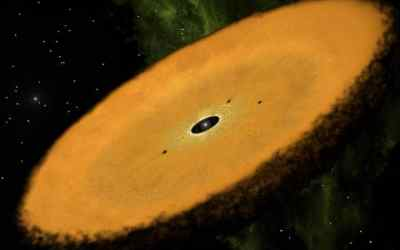 Found: Oldest known planet-forming disk