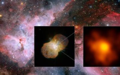 Highest resolution image of Eta Carinae