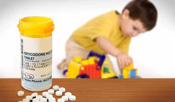 Rx opioid poisonings nearly double among toddlers, teens
