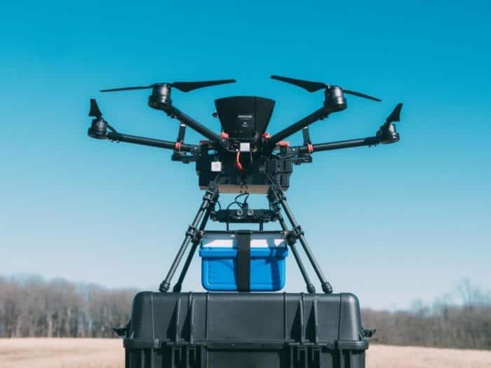 Blood products unaffected by drone trips