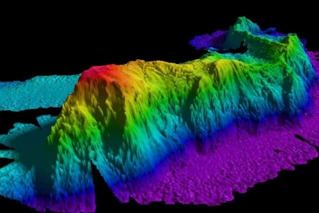 Underwater mountains help ocean water rise from abyss