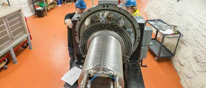 Researchers create first low-energy particle accelerator beam underground in U.S.